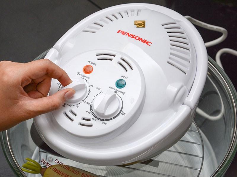 Lò nướng thủy tinh Pensonic PRO-912