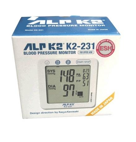 Máy đo huyết áp bắp tay ALPK2 K2 231