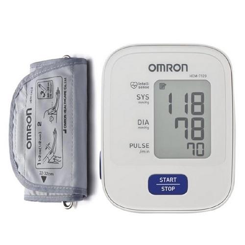 Máy đo huyết áp bắp tay Omron HEM-7120