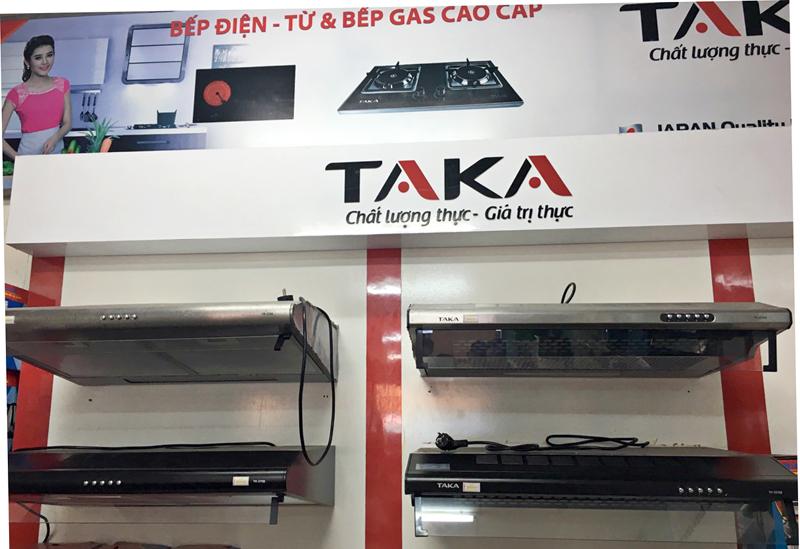 Máy hút mùi nhà bếp TAKA Nhật Bản giá rẻ