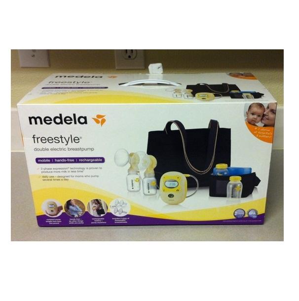 Máy hút sữa bằng điện đôi Medela Freestyle