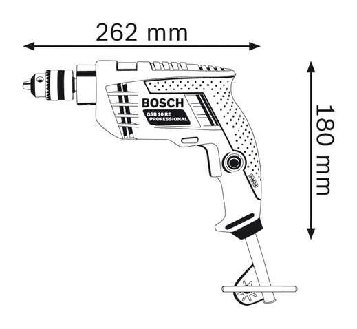 Máy khoan động lực Bosch GSB 10 RE