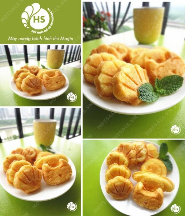 Máy làm bánh hình thú Yori - Việt Nam WM-YR2005