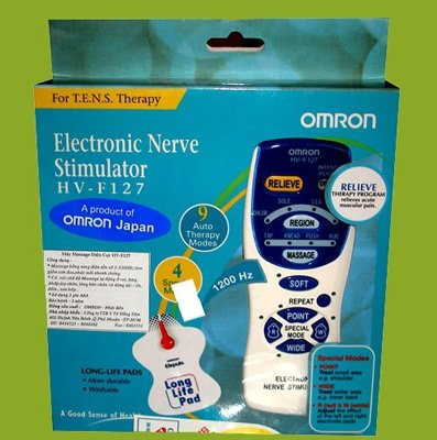 Máy massage trị liệu xung điện Omron HV-F127