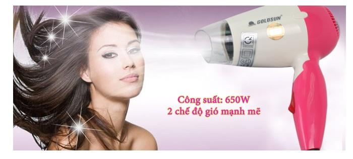 Máy sấy tóc Goldsun HD-GXD850