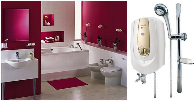 Máy tắm nước nóng Alpha V1-JET-E