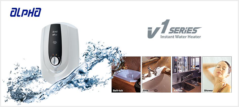 Máy tắm nước nóng Alpha V1-JET-EP