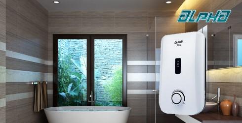 Máy tắm nước nóng Alpha X3E
