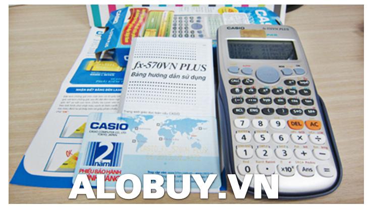 Máy tính casio fx-570vn plus mới nhất