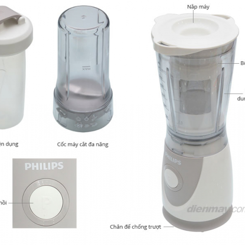 Philips Gelas Plastik Hr 2957 .