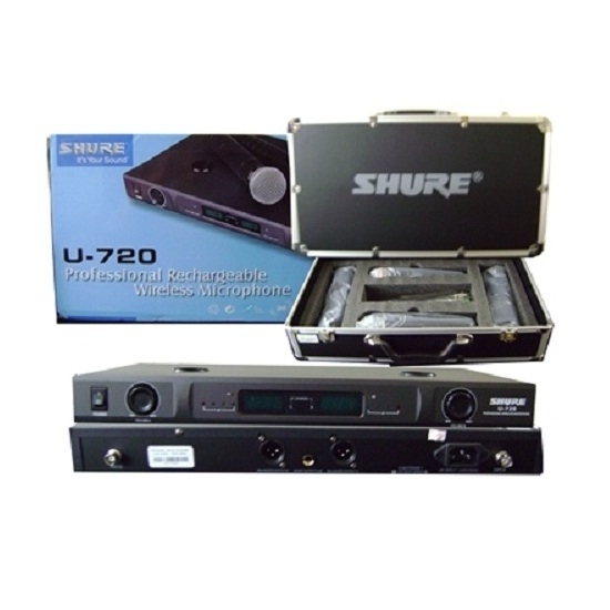 Micro Karaoke không dây Shure U720