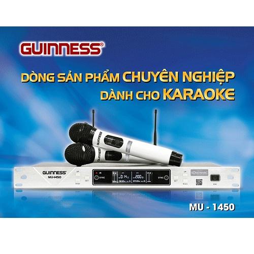 Bán Micro không dây Guinness MU-1450