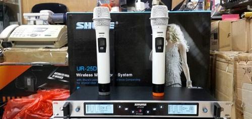 Mua Micro không dây Shure UR25D