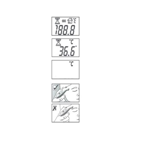 Nhiệt kế điện tử đo trán Beurer FT45
