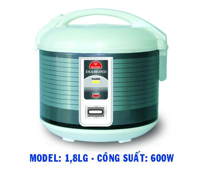 Nồi cơm điện Kim Cương 1.8LG