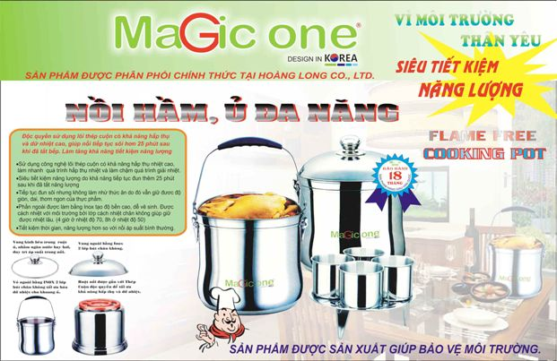 Nồi ủ Magic One MG-72 - Dung tích 7.0L