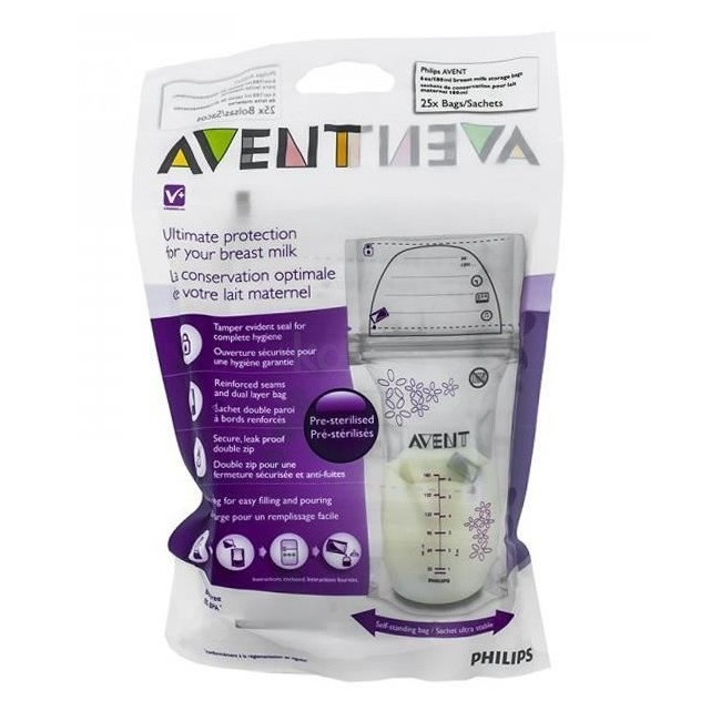 Túi trữ sữa Philips Avent SCF603.25