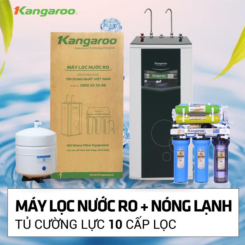 Máy lọc nước RO Nóng lạnh KANGAROO mở bán khuyến mãi
