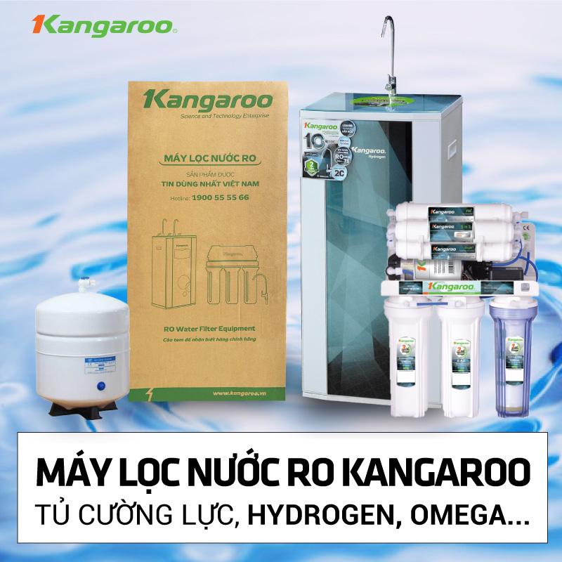 Máy lọc nước RO HYDROGEN KANGAROO mở bán khuyến mãi lần 2