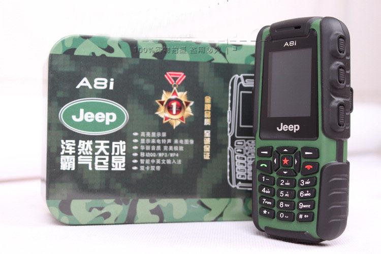 Điện thoại Land Rover Jeep A8i siêu bền