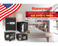 Két sắt khóa điện tử, khóa cơ an toàn HONEYWELL ( Mỹ) mở bán khuyến mãi lần 2