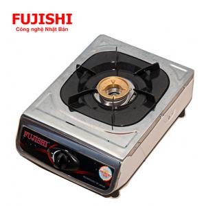 Bếp BIOGAS đơn chén đồng khung Inox Fujishi FJ-BG2