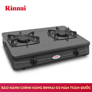 Bếp gas 6 tấc Rinnai RV-360GM, Chén gang đúc