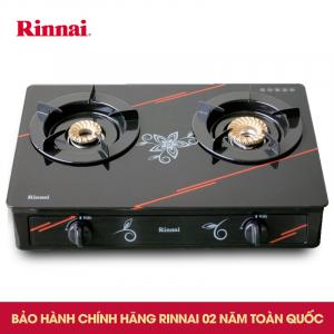 Bếp gas 6 tấc Rinnai RV-3615GL(FM), Chén đồng mặt kính