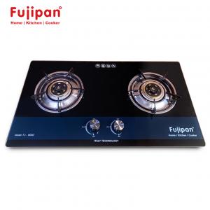Bếp gas âm Fujipan FJ-8990-BL, Chén đồng nguyên khối