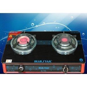 Bếp gas đôi hồng ngoại Bluestar NG-718C Slim