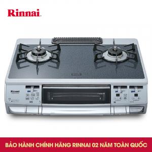 Bếp gas Rinnai japan S660MGTS(SL)-L 2 lò nấu và 1 lò nướng