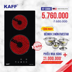 Bếp hồng ngoại đôi cảm ứng DOMINO KAFF KF-330DC