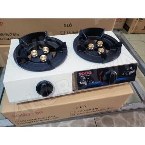 Bếp khè gas 2 lò bán công nghiệp SOGO GT-208S2-3DD