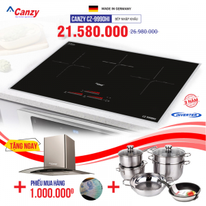 Bếp từ 3 lò cảm ứng CANZY CZ-999DHI