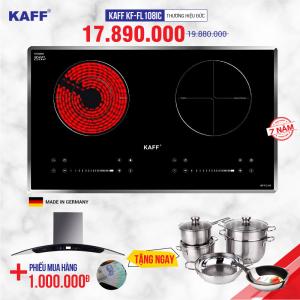 Bếp từ đôi hồng ngoại cảm ứng KAFF KF-FL108IC