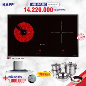 Bếp từ đôi hồng ngoại cảm ứng KAFF KF-FL68IC