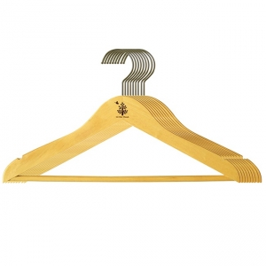 Bộ 10 cái máng áo thẳng dài Gỗ Đức Thành 08311