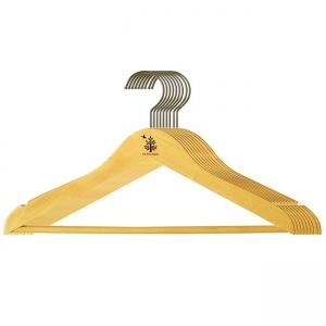 Bộ 10 cái máng áo thẳng Gỗ Đức Thành 08061