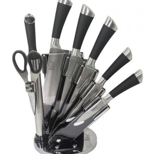 Bộ dao kéo làm bếp 8 món Bass IN.01-006