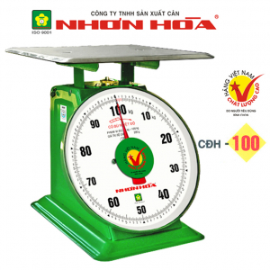 Cân đồng hồ lò xo Nhơn Hòa 100Kg CĐH-100