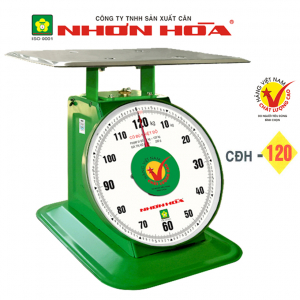 Cân đồng hồ lò xo Nhơn Hòa 120Kg CĐH-120-11 inch