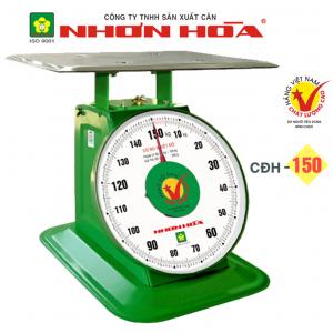 Cân đồng hồ lò xo Nhơn Hòa 150Kg CĐH-150