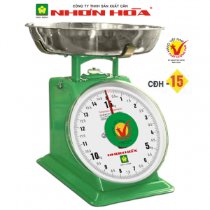 Cân đồng hồ lò xo Nhơn Hòa 15Kg CĐH-15