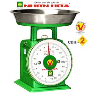 Cân đồng hồ lò xo Nhơn Hòa 2Kg CĐH-2