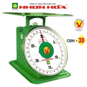 Cân đồng hồ lò xo Nhơn Hòa 30Kg CĐH-30