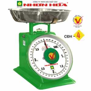 Cân đồng hồ lò xo Nhơn Hòa 4Kg CĐH-4