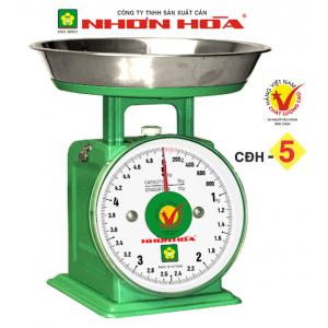 Cân đồng hồ lò xo Nhơn Hòa 5Kg CĐH-5