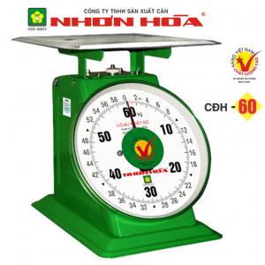 Cân đồng hồ lò xo Nhơn Hòa 60Kg CĐH-60