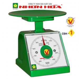 Cân nhựa đồng hồ Nhơn Hòa 1Kg CĐHN-1, Mặt vuông