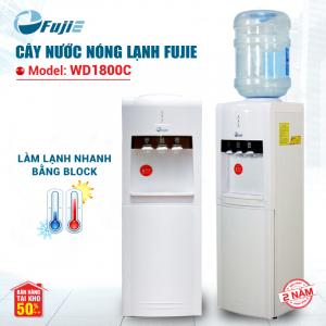 Cây nước nóng lạnh 3 vòi FUJIE WD1800C